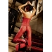 Red Lace Bodystocking
