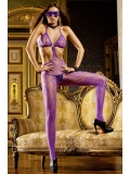 Purple Lace Bodystocking